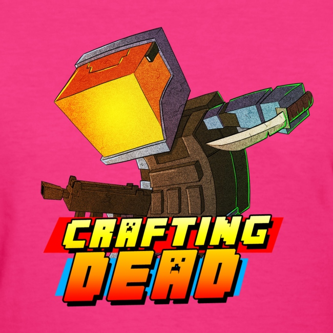 Woman's T-Shirt: Crafting Dead TrueMU