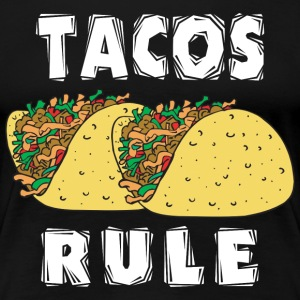 Tacos Rule Cinco de Mayo - Women's Premium T-Shirt
