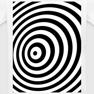 Minimum Geometry Illusion in Black & White(OP-Art) Kids' Shirts - Kids' T-Shirt