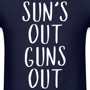 Sun's Out Guns Out - Country Closet T-Shirts - Men's T-Shirt