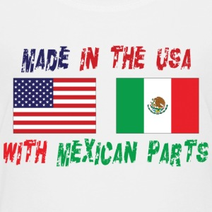 Made In The USA With Mexican Parts - Kids' Premium T-Shirt
