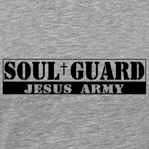 Jesus christ Soul guard T Shirts - Men's Premium T-Shirt