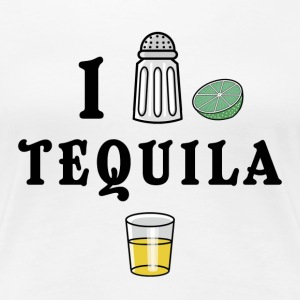 I Love Tequila - Women's Premium T-Shirt