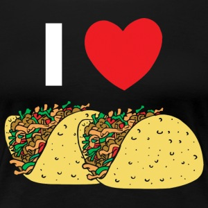 I Love Tacos - Women's Premium T-Shirt