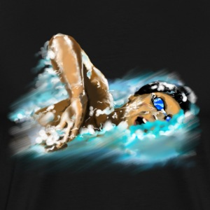 swimmer T-Shirts - Men's Premium T-Shirt