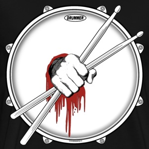 Dedicated Drummer. - Men's Premium T-Shirt