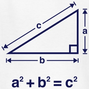 Pythagorean Theorem (Mathematics) Kids' Shirts - Kids' T-Shirt