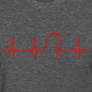 Heartbeat Dog Women's T - Women's T-Shirt