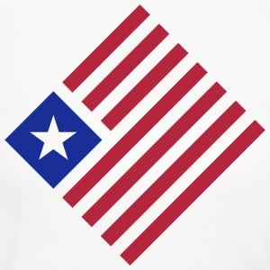 USA Flag Emblem (only) 2c Long Sleeve Shirts - Women's Long Sleeve Jersey T-Shirt