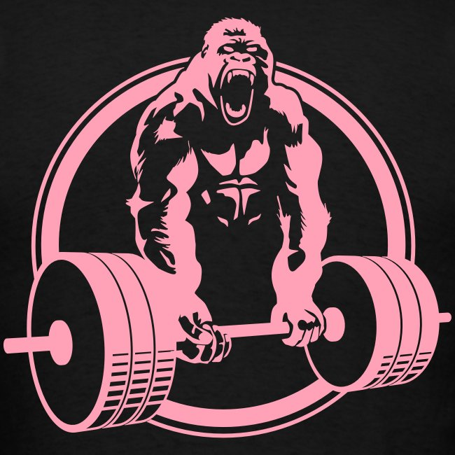 Weightlifting Fitness Crossfit Gorilla