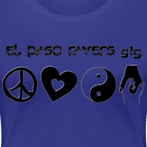 EP Ravers 915 PLUR Girls - Women's Premium T-Shirt