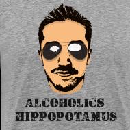 Design ~ Alcoholics Hippopotamus Shirt