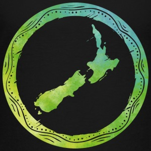 Map New Zealand Kids' Shirts - Kids' Premium T-Shirt