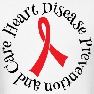 Heart Disease Prevention and Care T-Shirts - Men's T-Shirt