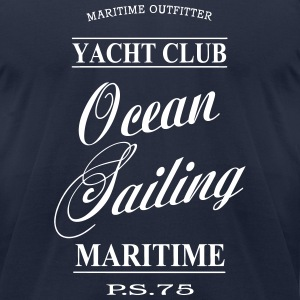 Maritime Ocean Sailing T-Shirts - Men's T-Shirt by American Apparel