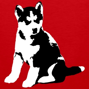Husky Junior Tank Tops - Men's Premium Tank