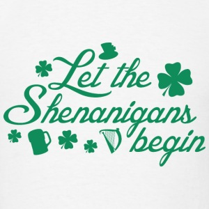 Let The Shenanigans Begin - Men's T-Shirt