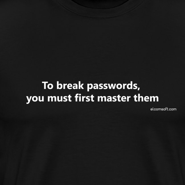 To Break Passwords, You Must First Master Them