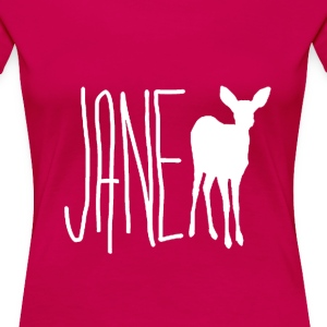 Jane Doe - Max (Life is Strange) Wht Ver. - Women's Premium T-Shirt