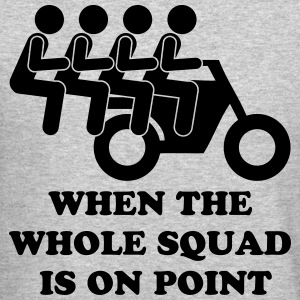 When The Whole Squad Is On Point Long Sleeve Shirts - Crewneck Sweatshirt