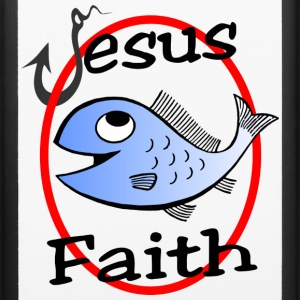Jesus Christ faith, fish & hook design case - iPhone 6/6s Rubber Case