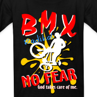 Design ~ BMX No Fear God take care of me