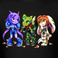 Design ~ Freedom Planet by Kiwiggle (Men's)