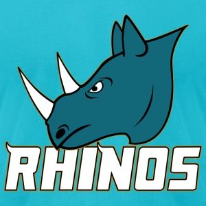 RHINOS - Men's T-Shirt by American Apparel