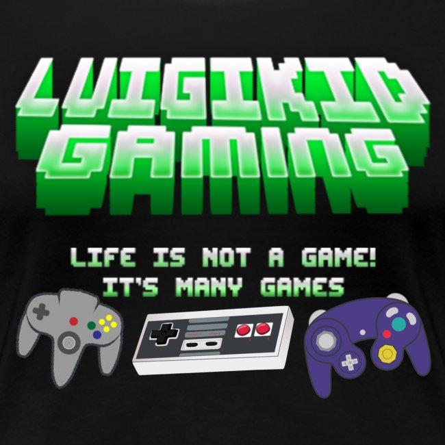 Luigikid Life Is Not A Game Anniversary T-Shirt Women