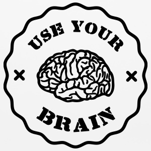 Use Your Brain - Funny Statement / Slogan Other - Mouse pad Horizontal