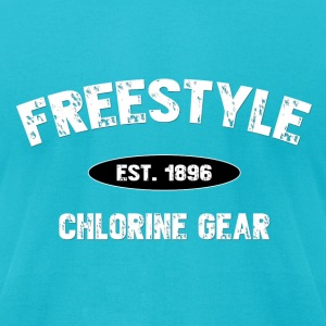 Freestyle est 1896-M T-Shirts - Men's T-Shirt by American Apparel