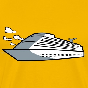 Ship sea cruise vacation T-Shirts - Men's Premium T-Shirt