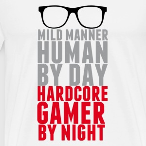 THE HARDCORE GAMER - Men's Premium T-Shirt