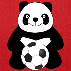 Panda with a soccer ball Bags & backpacks - Tote Bag