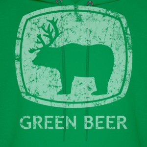 Green Beer St Patrick's Day Hoodies - Men's Hoodie