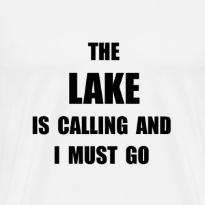 Lake Calling - Men's Premium T-Shirt