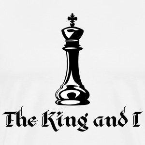 The King and I T-Shirts - Men's Premium T-Shirt