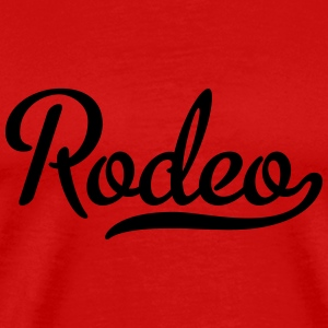 rodeo T-Shirts - Men's Premium T-Shirt