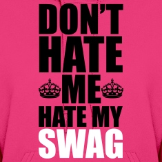 Hate My Swag  Hoodies