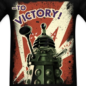 Dalek propaganda - Doctor Who Vintage Retro - Men's T-Shirt