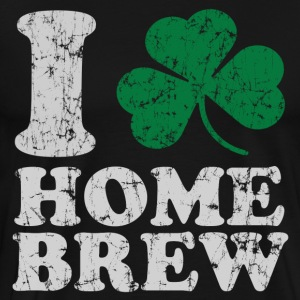 I Shamrock Home Brew T-Shirts - Men's Premium T-Shirt