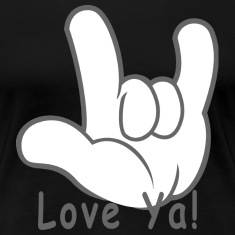 I Love You Hand Sign Love Ya!