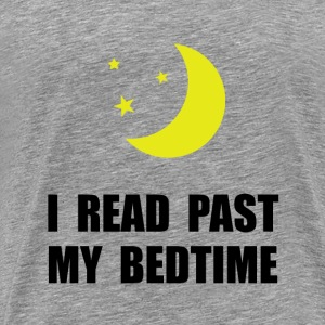 Read Past Bedtime - Men's Premium T-Shirt
