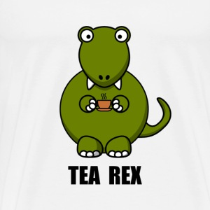 Tea Rex Dinosaur - Men's Premium T-Shirt