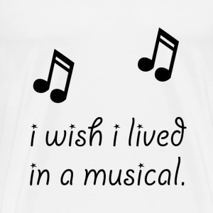 Live In Musical - Men's Premium T-Shirt