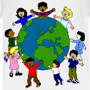 kids around the world - Kids' Premium T-Shirt