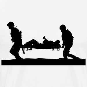 help for soldiers - Men's Premium T-Shirt