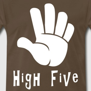 High Five Hand Sign High 5 Hand Gesture Language - Men's Premium T-Shirt