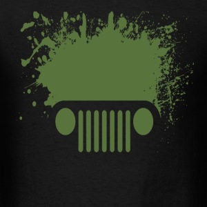 splatter jeep - Men's T-Shirt