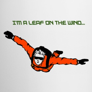 Skydiver - I'm a leaf on the wind - Coffee/Tea Mug